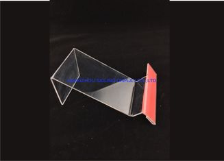 الصين Clear Acrylic Table Top Sign Holders , Card Display Holder المزود