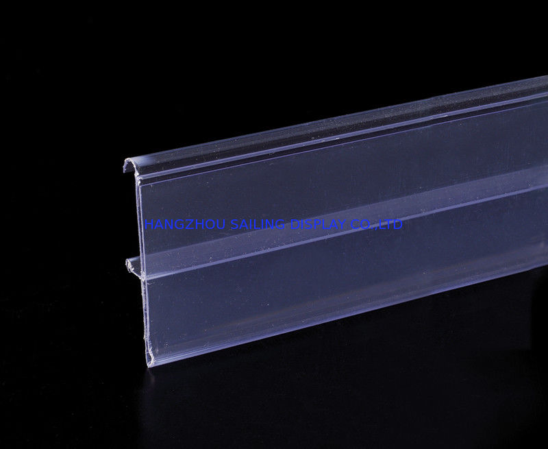 Non-toxic Aluminum Display Rail Colorful Plastic Data Strip for Shelf المزود