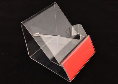 A3 A4 A5 transparent Acrylic Sign Holder , Menu Display Holder